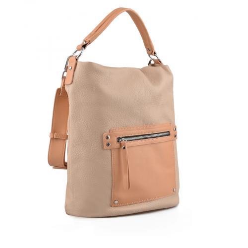 дамска ежедневна чанта бежова 0137087