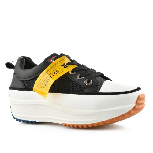 дамски ежедневни обувки черни 0140527