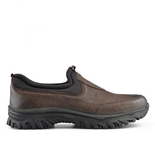 мъжки ежедневни обувки кафяви 0139723