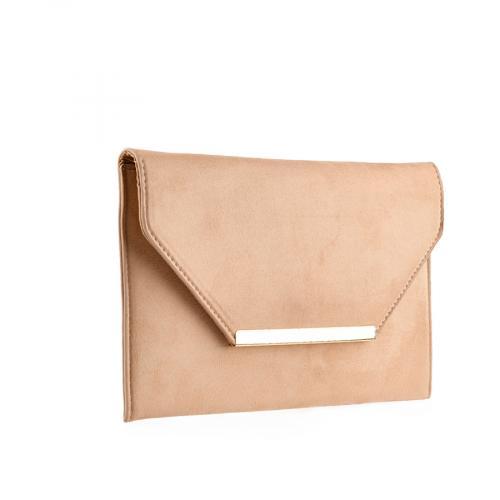 дамска елегантна чанта бежова 0139871