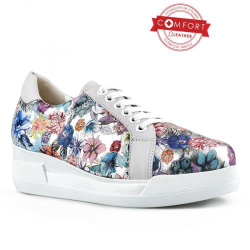 дамски ежедневни обувки бели 0144332
