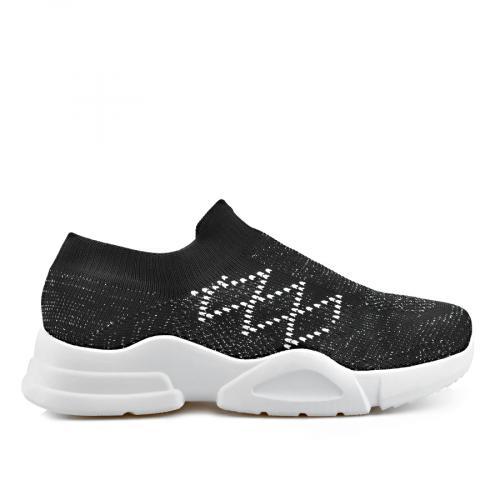 дамски ежедневни обувки черни 0136877