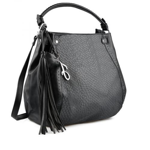дамска ежедневна чанта черна 0137938