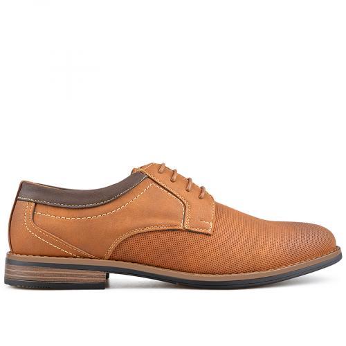 мъжки елегантни обувки кафяви 0136589