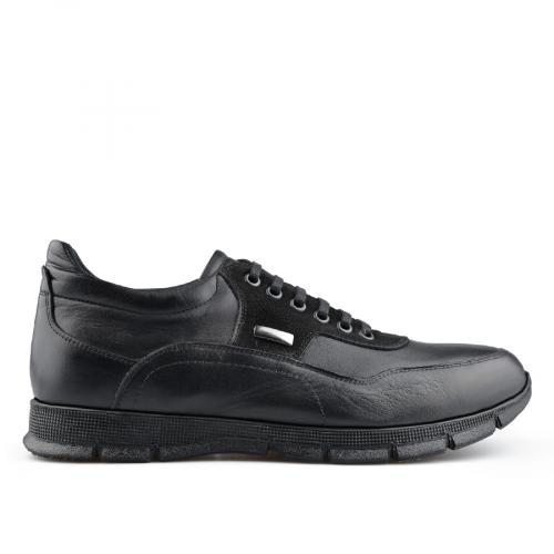 мъжки ежедневни обувки черни 0139725