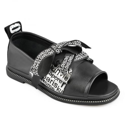 дамски ежедневни сандали черни 0138464