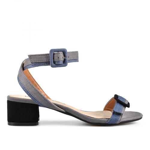 дамски ежедневни сандали сиви 0137617