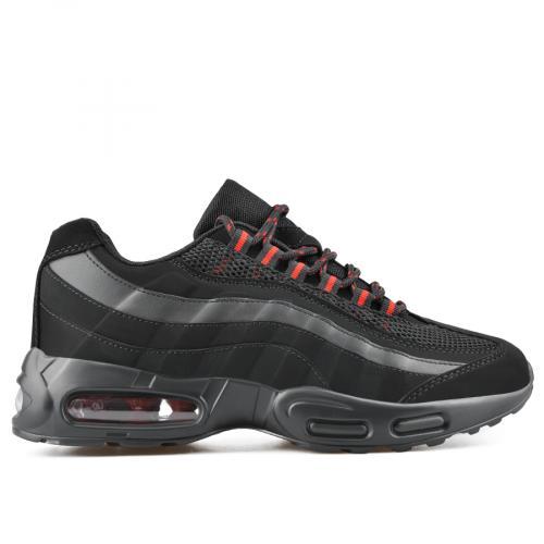 мъжки ежедневни обувки черни 0136953 0136953
