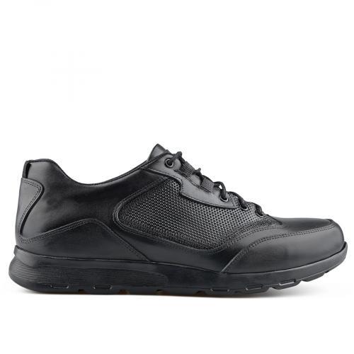 мъжки ежедневни обувки черни 0139493