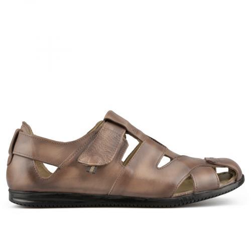 мъжки ежедневни сандали кафяви 0141220