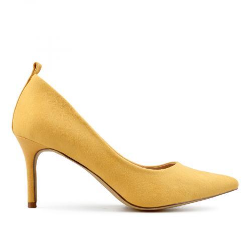 дамски елегантни обувки жълти 0138161