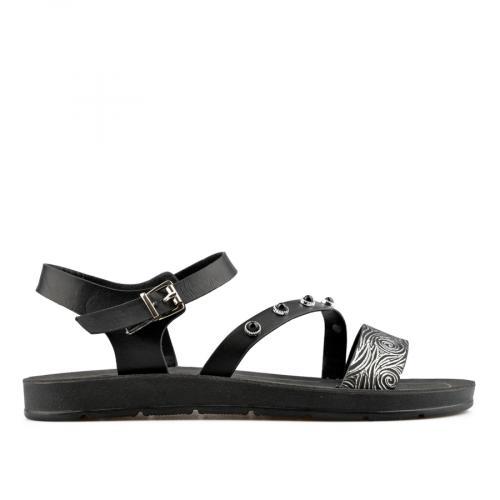дамски ежедневни сандали черни 0137585
