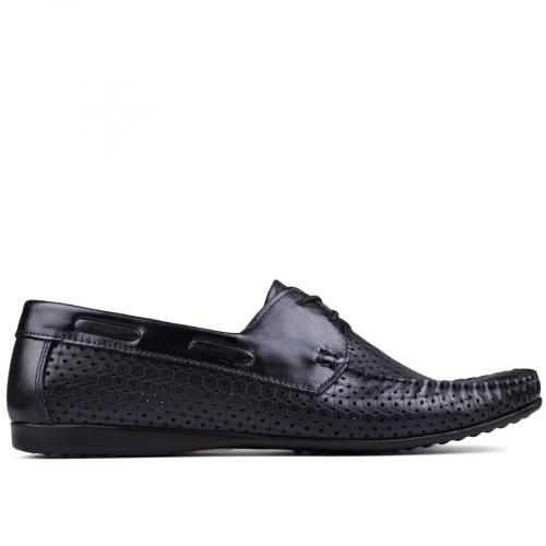 мъжки ежедневни обувки сини 0132036