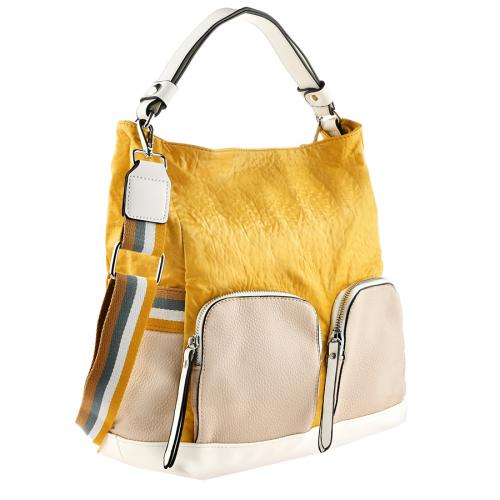 дамска ежедневна чанта жълта 0140884