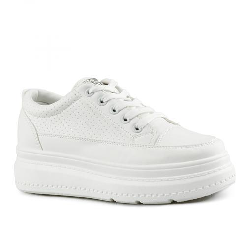 дамски ежедневни обувки бели 0143502