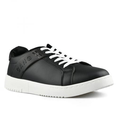 мъжки ежедневни обувки черни 0142635