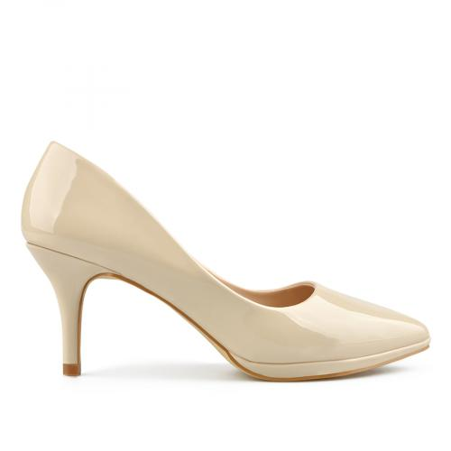 дамски елегантни обувки бежови 0137702