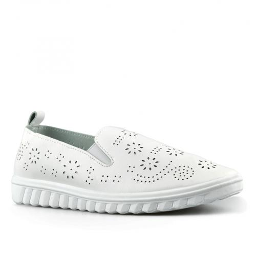 дамски ежедневни обувки бели 0143192
