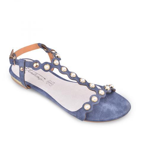 дамски ежедневни сандали сини 0134075
