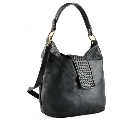 дамска ежедневна чанта черна 0141752