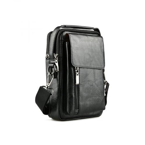 мъжка ежедневна чанта черна 0141605