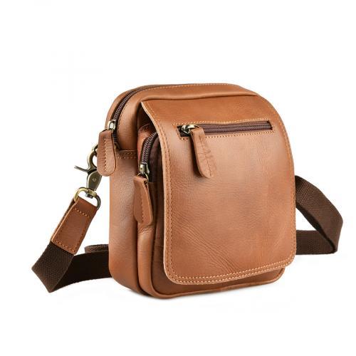 мъжка ежедневна чанта кафява 0143846