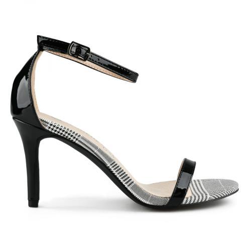 дамски елегантни сандали черни 0142891