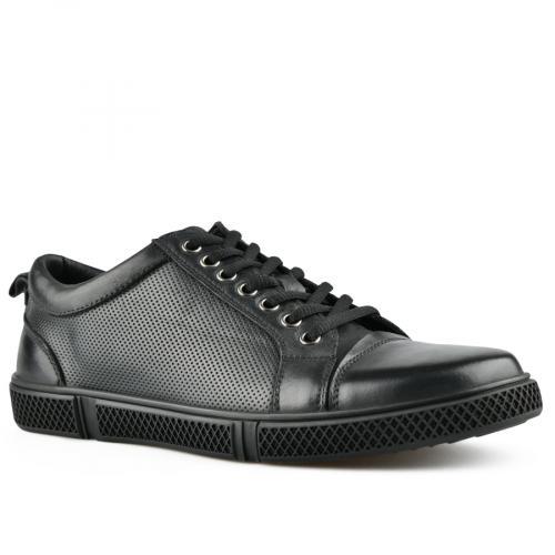 мъжки ежедневни обувки черни 0143458