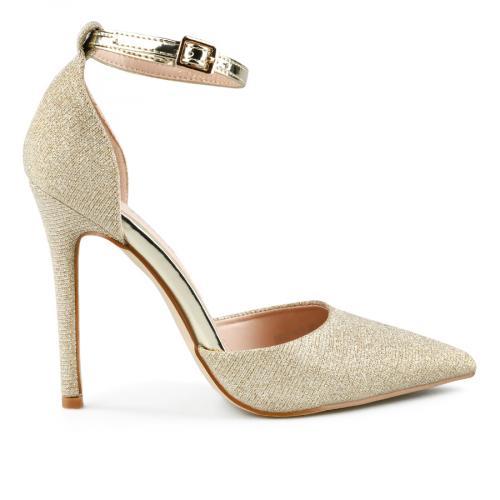 дамски елегантни сандали златисти 0143247