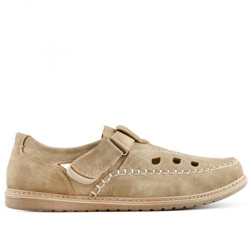мъжки ежедневни обувки бежов 0140280