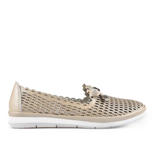 дамски ежедневни обувки бежови 0137220
