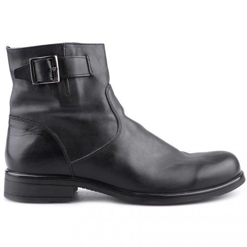 мъжки елегантни боти черни 0112249