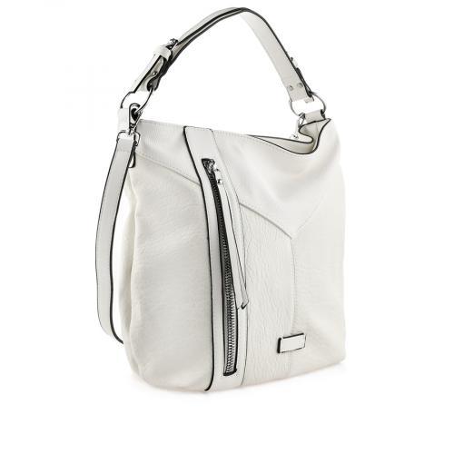 дамска ежедневна чанта бяла 0140856