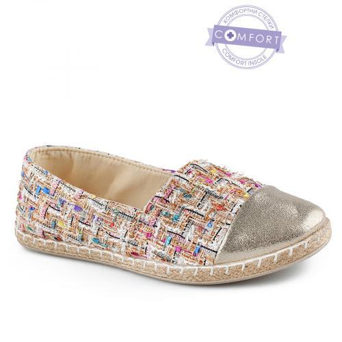 дамски ежедневни обувки бежови 0142563