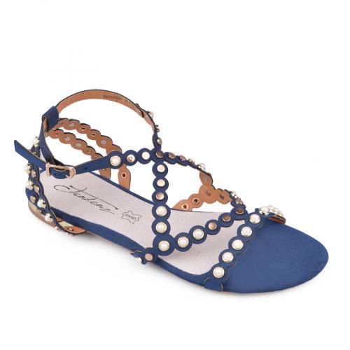 дамски ежедневни сандали сини 0134076