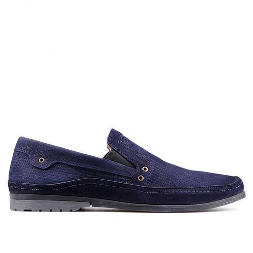 мъжки ежедневни обувки сини 0130999