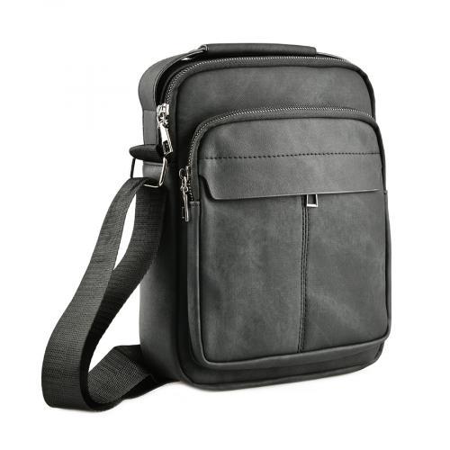 мъжка ежедневна чанта черна 0143890