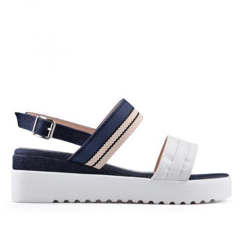 дамски ежедневни сандали бели 0134529