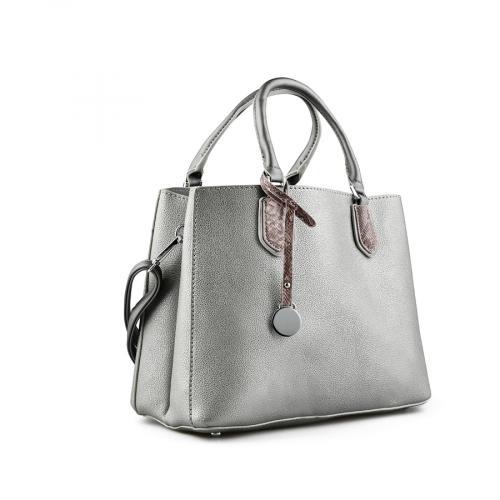 дамска ежедневна чанта сива 0143372