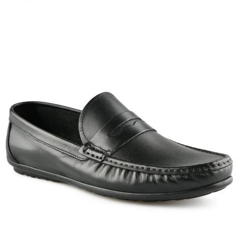 мъжки ежедневни обувки черни 0141249