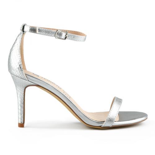 дамски елегантни сандали сребристи 0142890