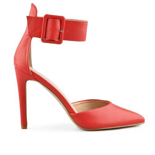 дамски елегантни сандали червени 0140461
