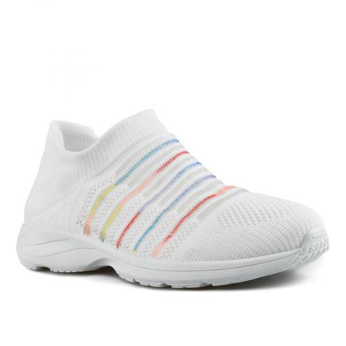 дамски ежедневни обувки бели 0143510
