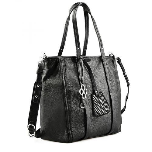 дамска ежедневна чанта черна 0142050