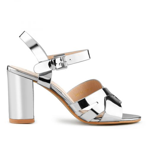 дамски елегантни сандали сребристи 0140704
