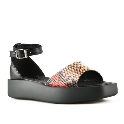 дамски ежедневни сандали черни 0144404