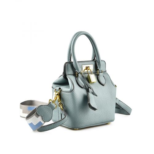 дамска ежедневна чанта синя 0145126