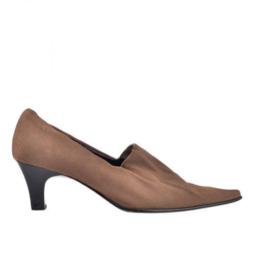 дамски елегантни обувки кафяви 0100160