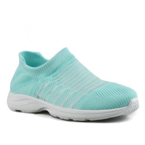 дамски ежедневни обувки сини 0143512