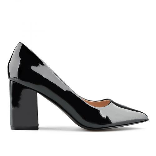 дамски елегантни обувки черни 0138999